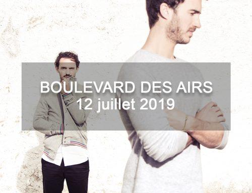 Ambiance pop rock avec Boulevard des Airs