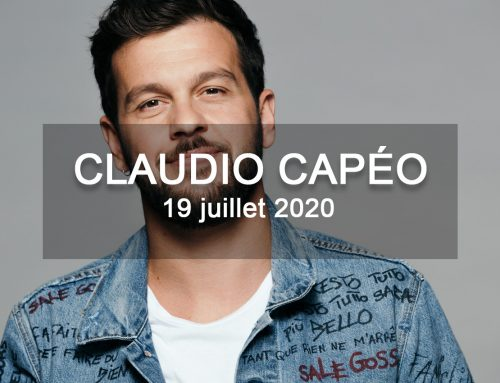 Claudio Capéo aux Nuits de Saint-Jacques le 19 juillet