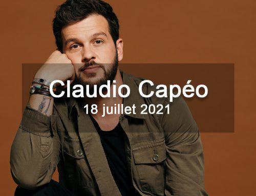 Claudio Capéo aux Nuits de Saint-Jacques en 2021